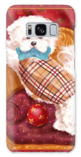 Little Dogs - Bichon Frise Galaxy Case