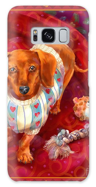 Little Dogs - Dachshund Galaxy Case