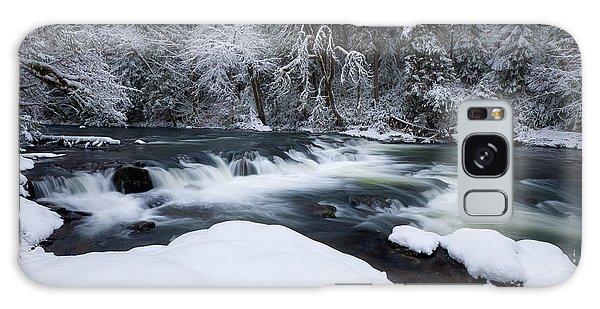 Little Fall Creek Winter Galaxy Case
