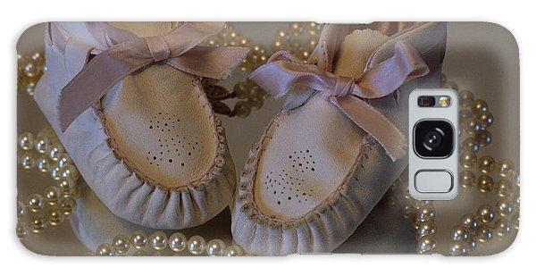 Little Girls To Pearls Galaxy Case by Sharon Elliott