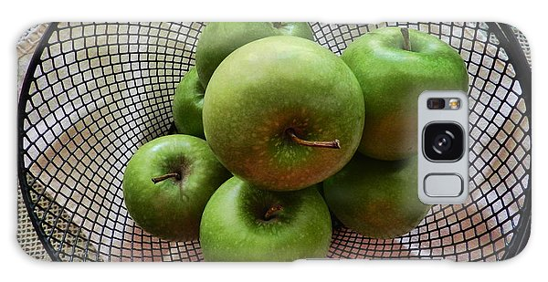 Little Green Apples Galaxy Case