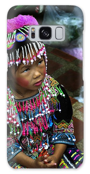 Little Hill Tribe Girl Galaxy Case