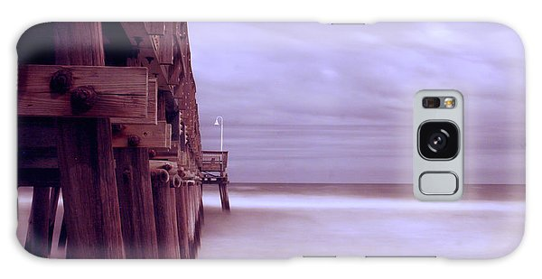 Little Island Fishing Pier Galaxy Case