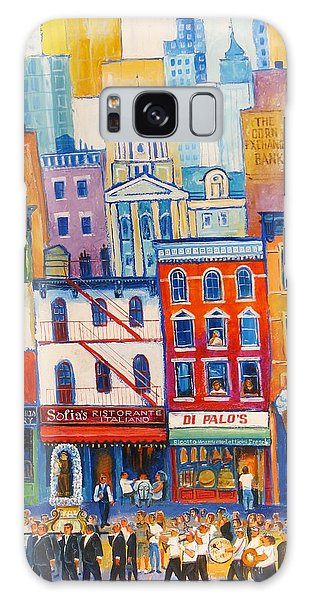 Little Italy New York Galaxy Case by Mikhail Zarovny