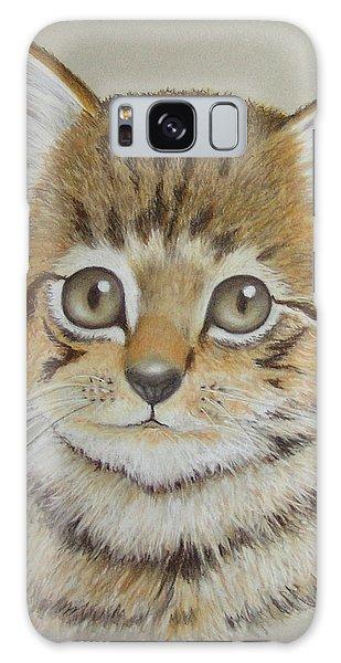 Little Kitty Galaxy Case by Janet Garcia