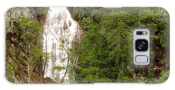 Little Laurel Branch Falls Landscape Galaxy Case