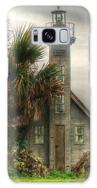 Little Lost Lighthouse Galaxy Case by Myrna Bradshaw