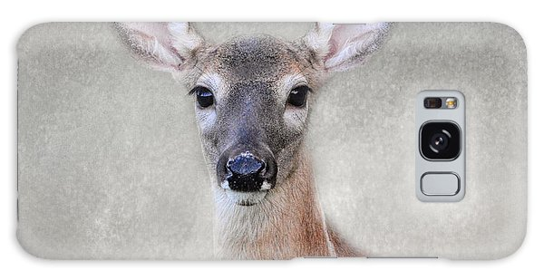 Little Miss Lashes - White Tailed Deer - Fawn Galaxy Case