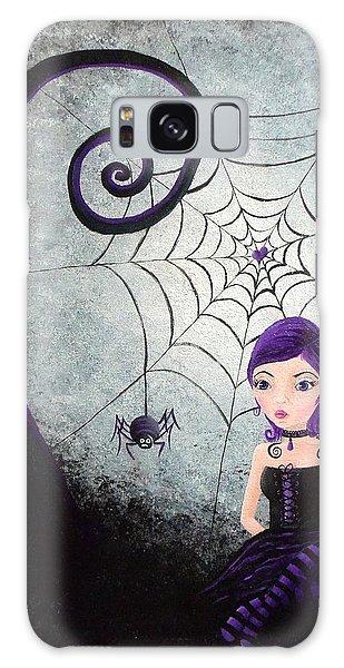 Little Miss Muffet Galaxy Case by Oddball Art Co by Lizzy Love