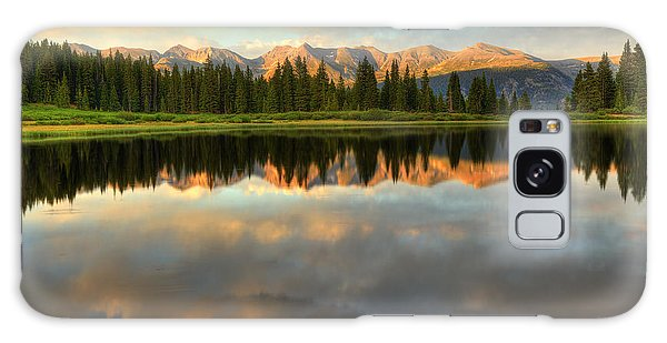 Little Molas Lake At Sunset Galaxy Case by Alan Vance Ley