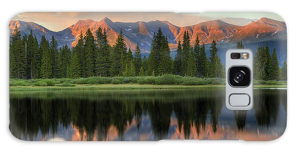 Little Molas Lake Sunset 2 Galaxy Case by Alan Vance Ley