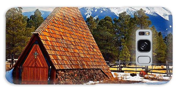 Little Mountain Church Galaxy Case by Bob Pardue