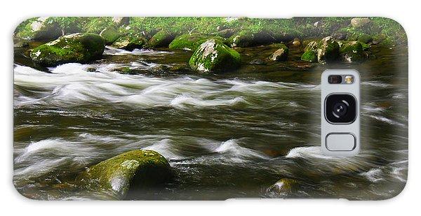 Little Piegon River Gatlinburg Tennessee Galaxy Case
