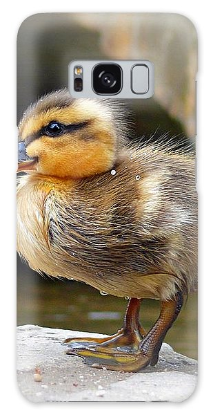 Little Quack Galaxy Case by Morag Bates