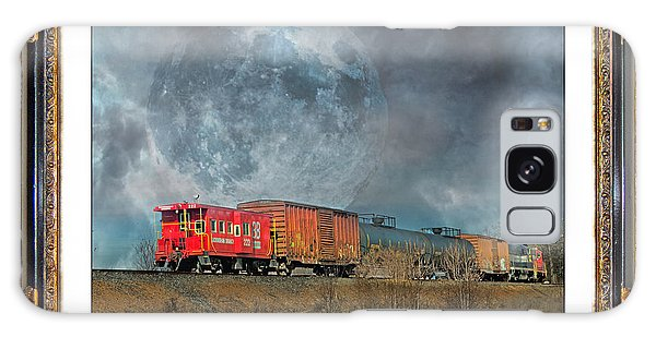 Framing Galaxy Case - Little Red Caboose  by Betsy Knapp