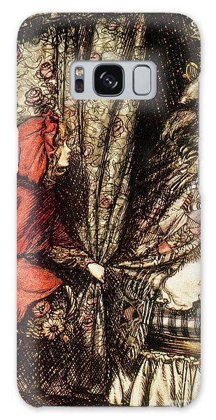 Folklore Galaxy Case - Little Red Riding Hood by Arthur Rackham