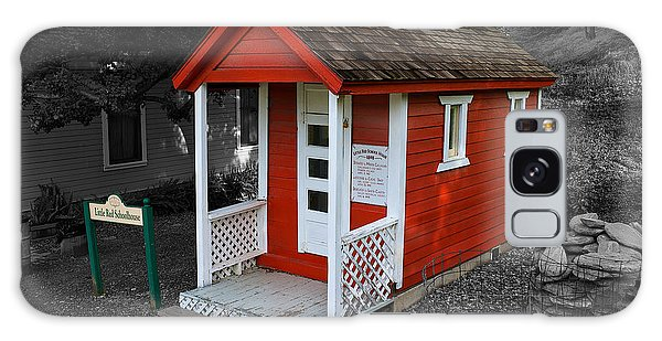 Little Red School House Galaxy Case