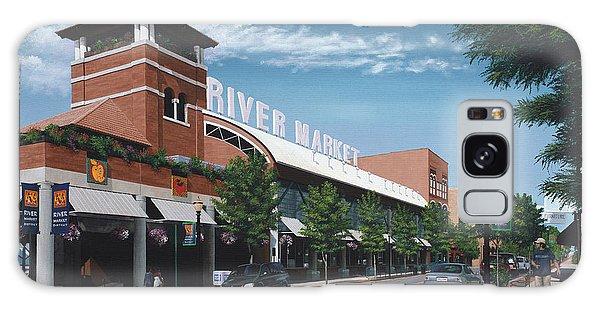 Little Rock River Market Galaxy Case