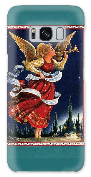 Angel Galaxy Case - Little Town Of Bethlehem by Lynn Bywaters