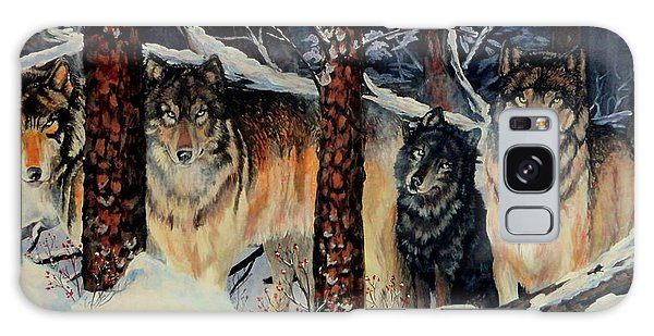 Little Wolf Galaxy Case by Ruanna Sion Shadd a'Dann'l Yoder