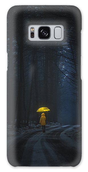 Little Yellow Riding Hood Galaxy Case