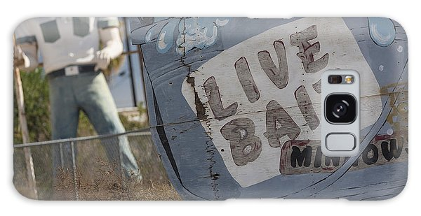Live Bait And The Man Galaxy Case