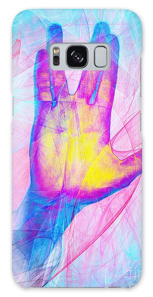 Galaxy Case featuring the photograph Live Long And Prosper 20150302v1 by Wingsdomain Art and Photography
