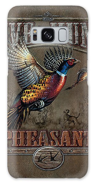 Live To Hunt Pheasants Galaxy Case
