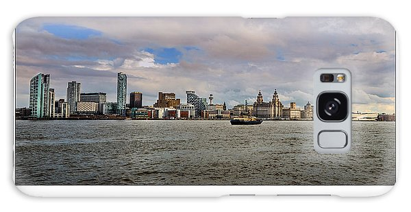Liverpool Skyline Galaxy Case