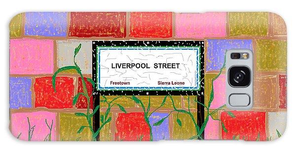 Liverpool Street - Freetown Galaxy Case by Mudiama Kammoh