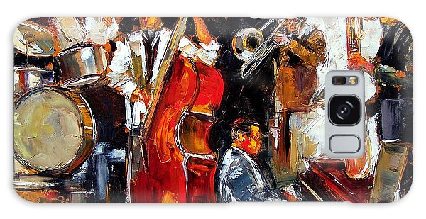 Drum Galaxy Case - Living Jazz by Debra Hurd