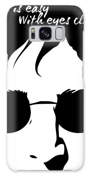 Quote Galaxy Case - Living Lennon by Gina Dsgn