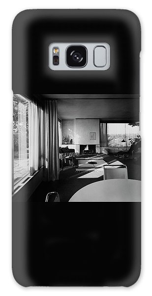 Living Room In Mr. And Mrs. Walter Gropius' House Galaxy Case