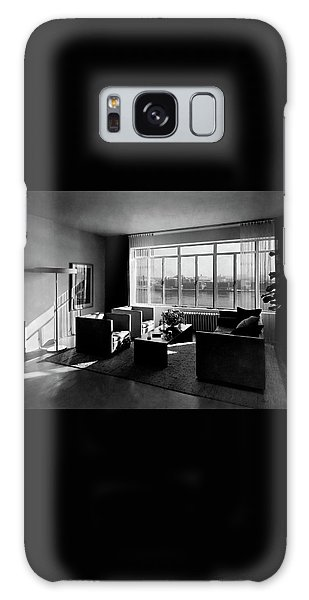 Living Room In The Ny Home Of Edward M. M Galaxy Case