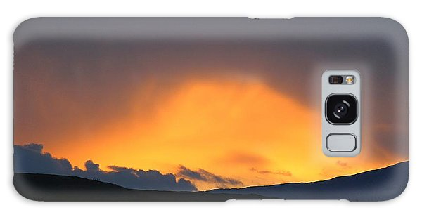 Galaxy Case featuring the photograph Livingstone Range Sunset by Ann E Robson