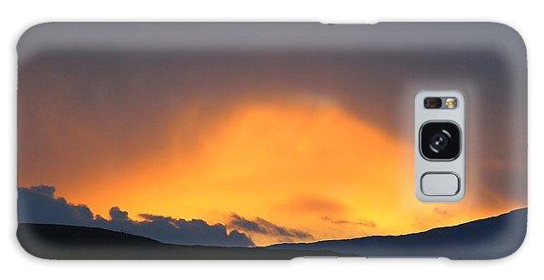 Livingstone Range Sunset Galaxy Case