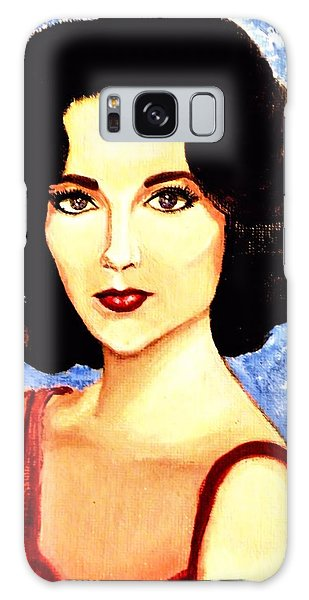 Liz Taylor Galaxy Case