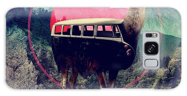 Llama Galaxy S8 Case - Llama by Ali Gulec