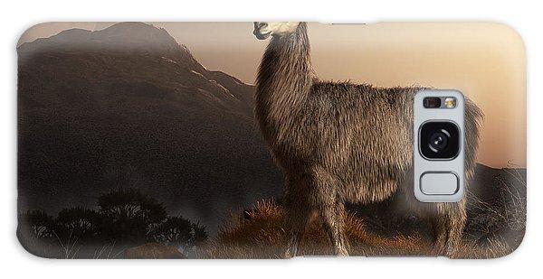 Llama Dawn Galaxy Case