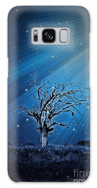 Loan Oak Light Trail - No1410 Galaxy Case