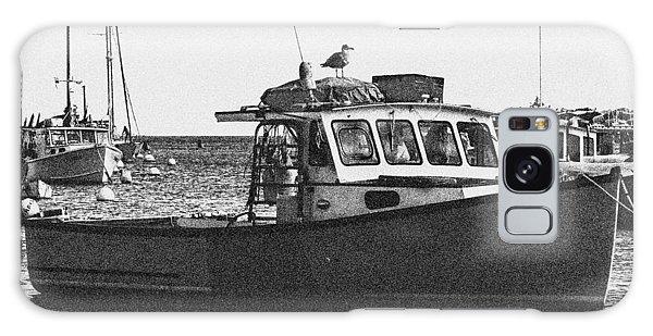 Lobster Boat Galaxy Case
