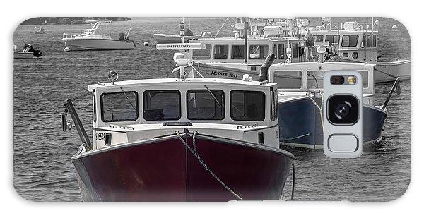 Lobster Boats Selective Color Galaxy Case