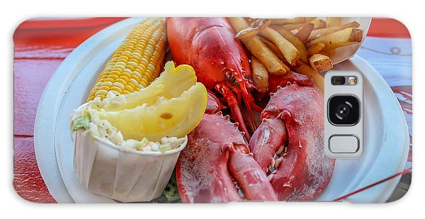 Lobster Dinner  Galaxy Case by Trace Kittrell