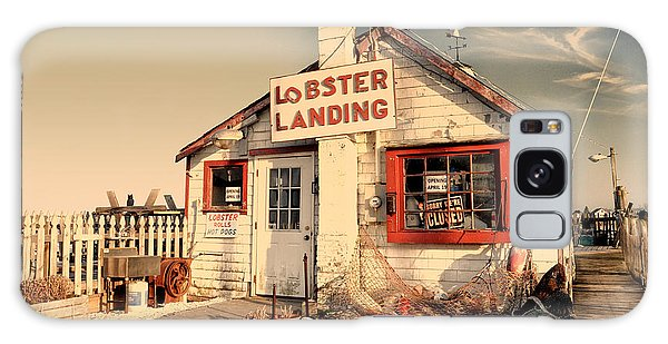 Lobster Landing Clinton Connecticut Galaxy Case