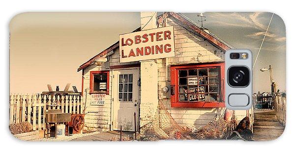 Lobster Landing Clinton Connecticut Galaxy Case