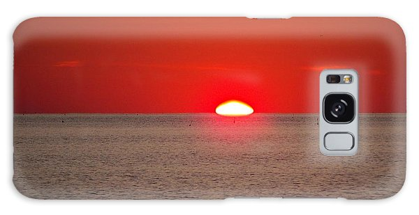 Lobster Pots Dance In The Sea  At Sunrise Galaxy Case