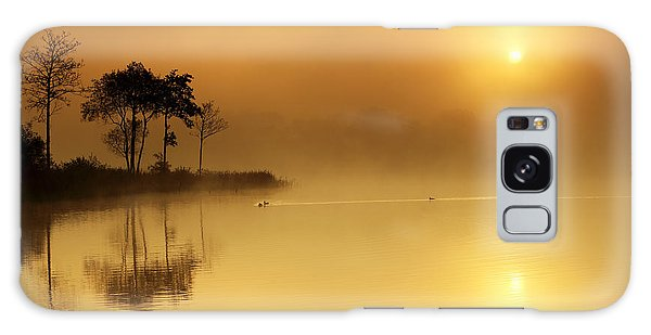 Loch Ard Morning Glow Galaxy Case