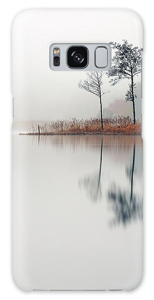 Loch Ard Reflections Galaxy Case