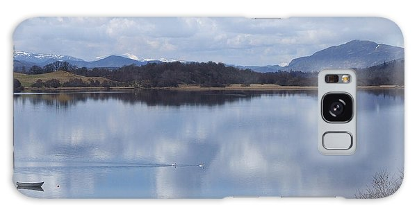 Galaxy Case - Loch Insh - Spring Reflections by Phil Banks