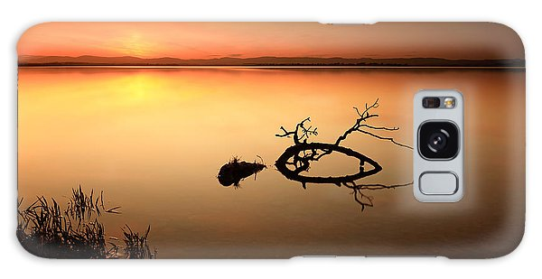 Loch Leven Sunset Galaxy Case